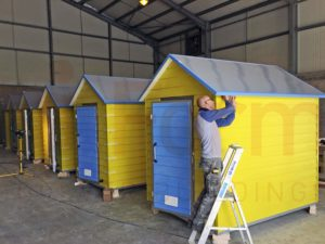 Creative build Specialists, Beach Huts