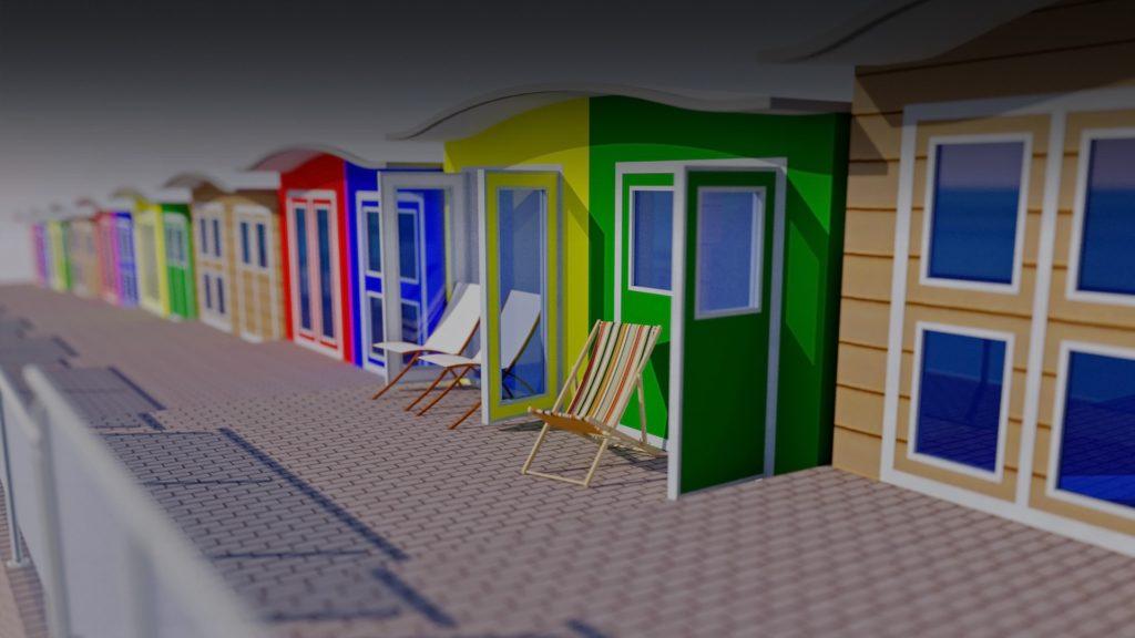 Beach Hut Project 1