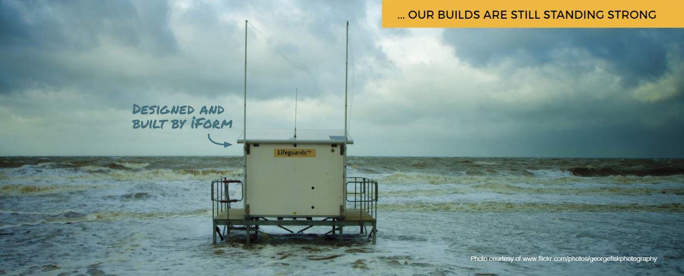 RNLI Beach Hut