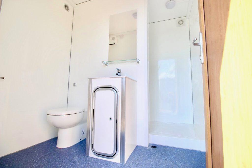 Portable Shower & Toilet Block