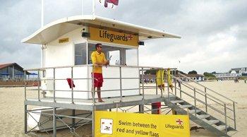 Composite Lifeguard Building