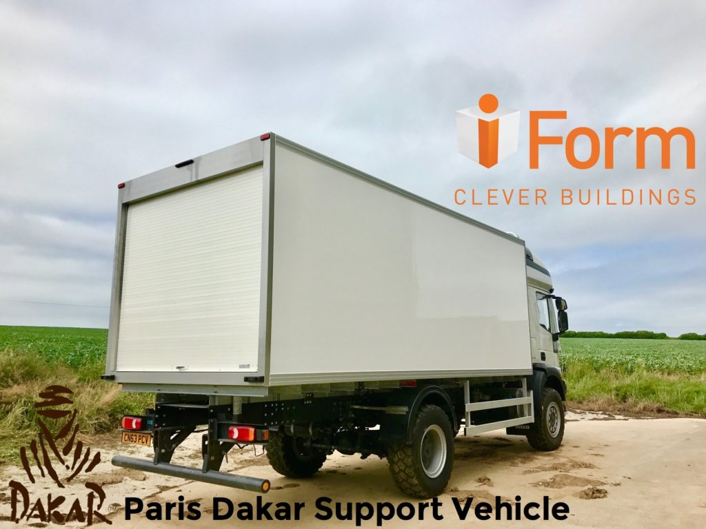 Rider Support vehicle for the Paris Dakar Race