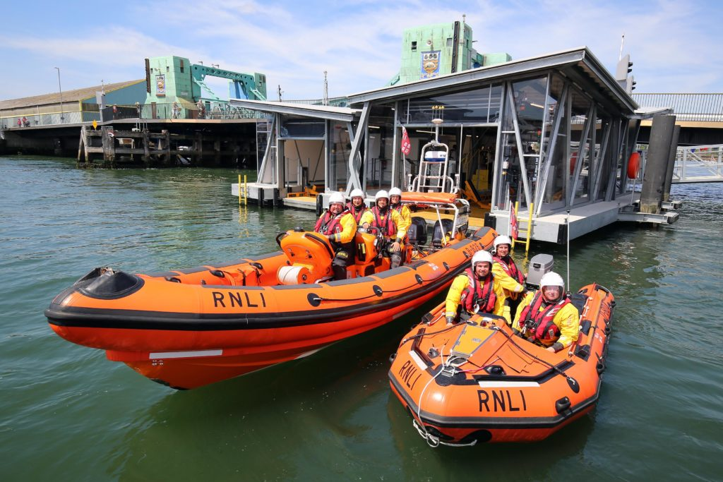 New iForm Floating Boat House for the RNLI Credit:  Nicholas Leach?????????????????????????????????????????????????????????????????