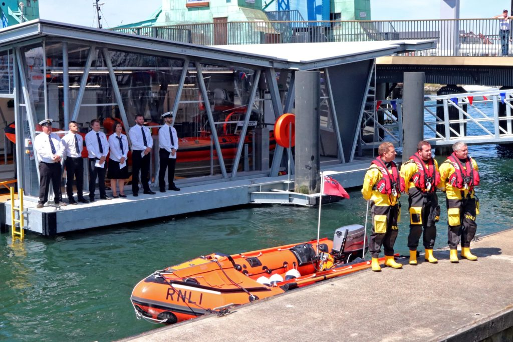New iForm Floating Boat House for the RNLI Credit:  Nicholas Leach