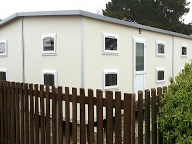 Exterior Finish - Modular Accomodation Building