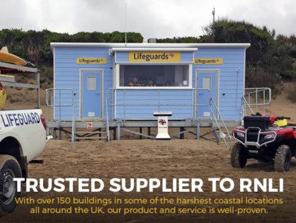 Image Post - iformuk - beach huts- RNLI huts poole